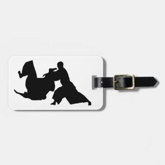 Aikido Silhouette Luggage Tag