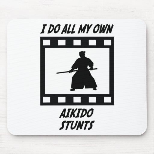 Aikido Stunts Mouse Pad