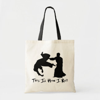 Aikido This Is How I Roll Tote Bag