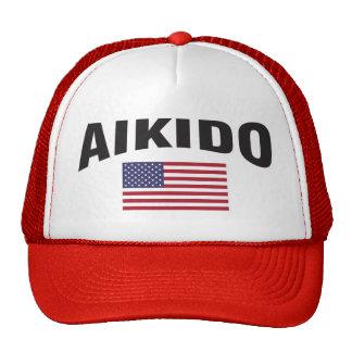 Aikido United States Flag Trucker Hat