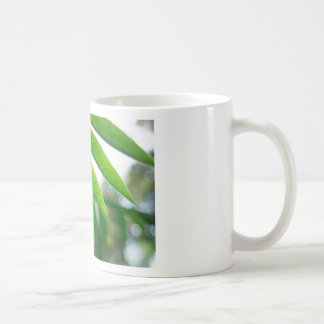 Ailanthus branch with narrow leaves coffee mug
