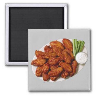 Ailes de poulet magnet carré