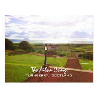 Ailsa Craig, Turnberry, Scotland Postcard