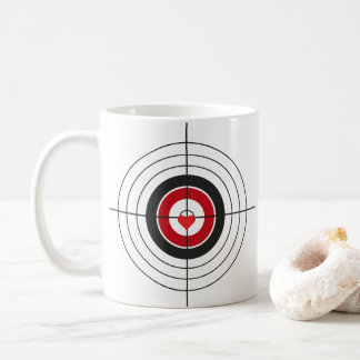 Aim for The Heart Coffee Mug