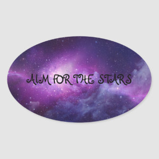 AIM FOR THE STARS Sticker