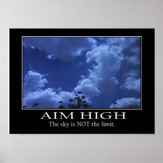 Aim High Poster