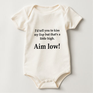 Aim Low! Baby Bodysuit