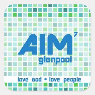 AIM Stickers