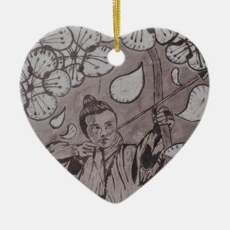 Aim True By Carter L. Shepard Ceramic Ornament