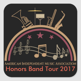 AIMA Honor's Band 2017 Stickers