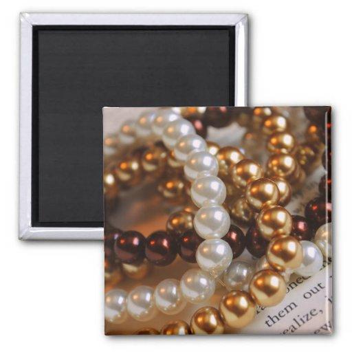 Aimant de bracelets de perle