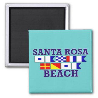 Aimant de carré de plage de Santa Rosa