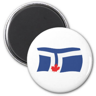 Aimant de drapeau de Toronto