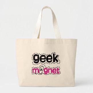 Aimant de geek sac en toile jumbo