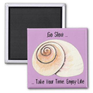 Aimant de grève perlée d'escargot