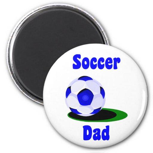 Aimant de papa du football