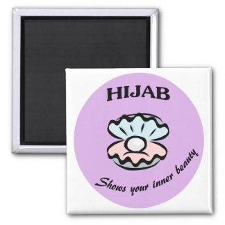 Aimant de perle de Hijab