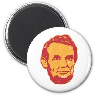 Aimant de portrait d Abraham Lincoln