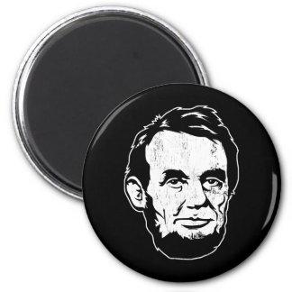 Aimant de portrait d'Abraham Lincoln