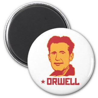 Aimant de portrait de George Orwell