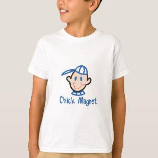 Aimant de poussin t-shirt