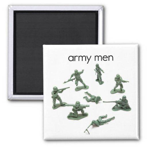 Aimant de réfrigérateur d'hommes d'armée