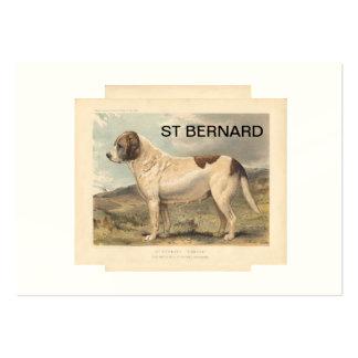 AIMANT DE ST BERNARD CARTE DE VISITE GRAND FORMAT