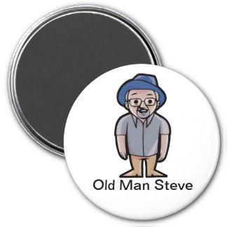 Aimant de Steve de vieil homme