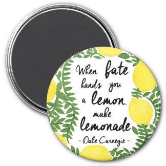 Aimant Faisons la limonade