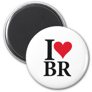 Aimant I Love Brésil BR Edition