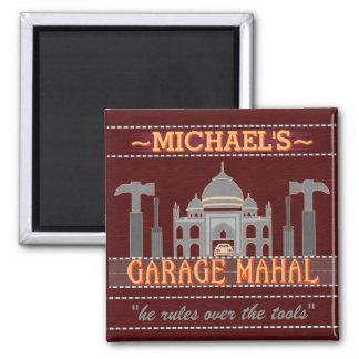 Aimant Le garage drôle Mahal de caverne d'homme usine le