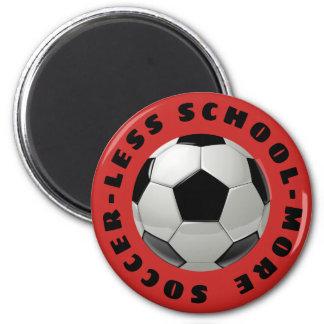 Aimant Moins d'école plus de football