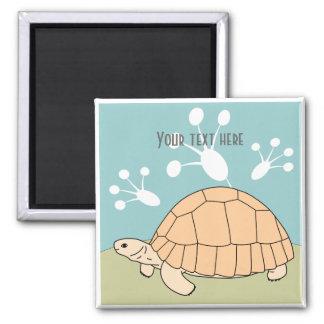 Aimant personnalisable 1 de tortue de soc
