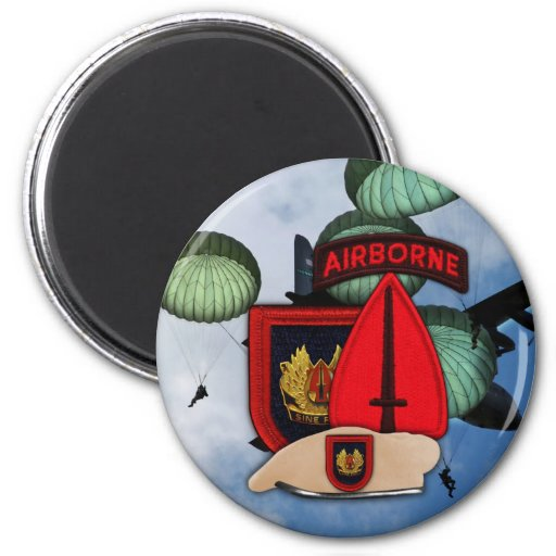 Aimant spécial de correction d'USSOCOM USASOC Ops