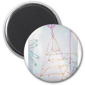 Aimant Un jeu de perle en verre de géomètres