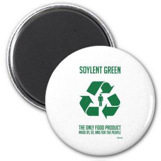 Aimant vert de Soylent