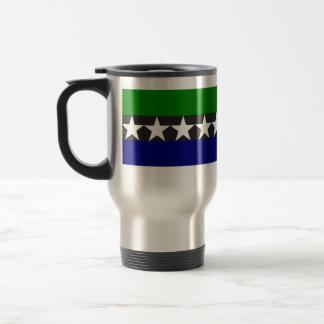 Aimeliik, Pakistan flag Travel Mug