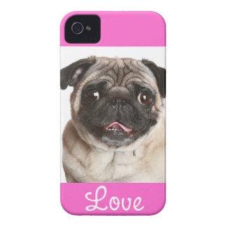 Aimez la couverture de cas de l iPhone 4 de rose d Coque Case-Mate iPhone 4