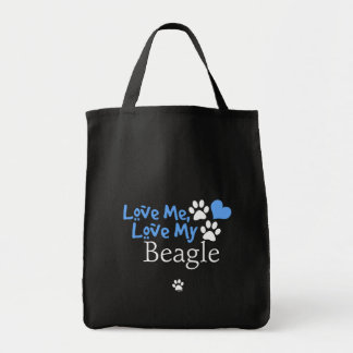 Aimez-moi, aimez mon beagle sac