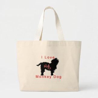 aimez mon chien de singe sac