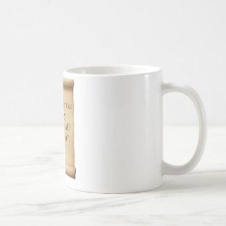aimez thy voisin mug blanc