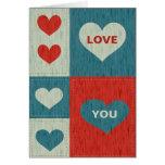 Aimez-vous avec la carte de coeurs