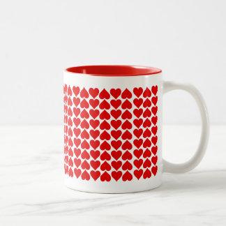 Aimez-vous davantage ! mug bicolore