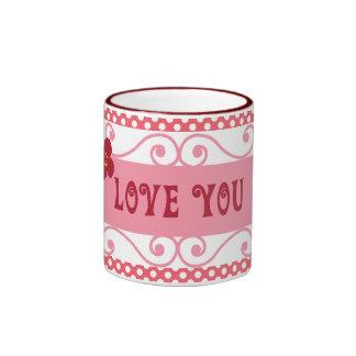 Aimez-vous des cadeaux de Saint-Valentin sur le Mug Ringer