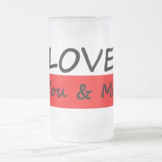 Aimez vous et moi tasse