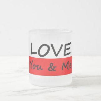 Aimez vous et moi tasses