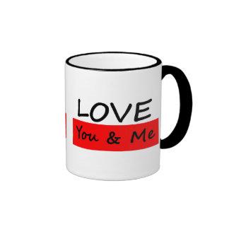Aimez vous et moi tasse à café