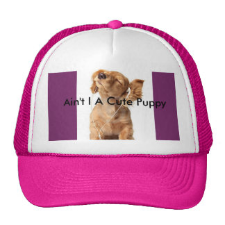 Ain't I A Cute Puppy Trucker Hat