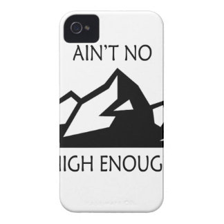 Ain't No Mountain High Enough iPhone 4 Cover