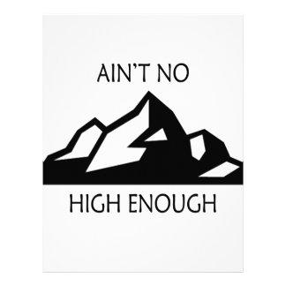 Ain't No Mountain High Enough Letterhead